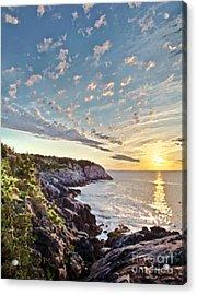 Monhegan East Shore Acrylic Print