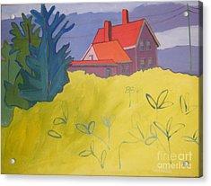 Monhegan Light Acrylic Print by Debra Bretton Robinson
