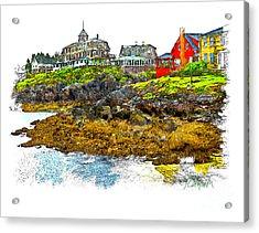 Monhegan West Shore Acrylic Print