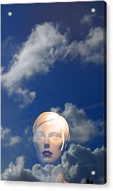 Monica In The Clouds 2 Acrylic Print by Jez C Self