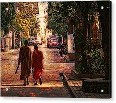 Monk Mates Acrylic Print
