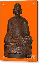 Monk Seated Acrylic Print