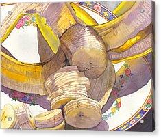 Monkey Bait Acrylic Print by Catherine G McElroy