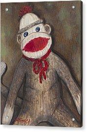 Monkey Business Acrylic Print by Sheila Kinsey