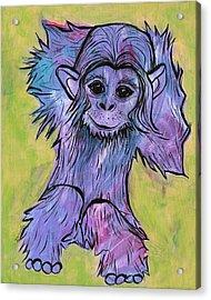 Monkey Mischief Acrylic Print