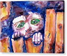 Monkey See Acrylic Print