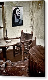 Monk's Cell Acrylic Print by Pennie  McCracken