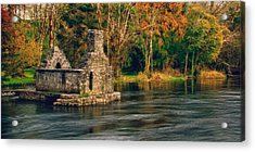 Acrylic Print featuring the photograph Monk's Fishhouse 2 by Trever Miller
