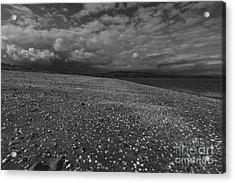 Mono Cunnigar Beach Acrylic Print