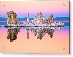Mono Lake Tufa At Dusk Acrylic Print