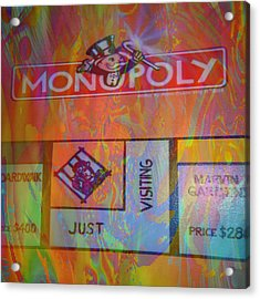 Monopoly Dream Acrylic Print by Kevin Caudill