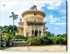 Acrylic Print featuring the photograph Monserrate Palace by Marion McCristall