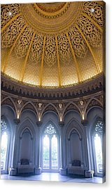 Acrylic Print featuring the photograph Monserrate Palace Room by Carlos Caetano