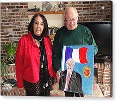 Monsieur Le Maire Et Moi Acrylic Print