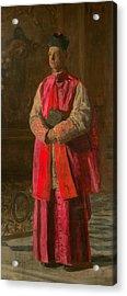 Monsignor James P. Turner Acrylic Print