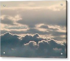 Monsoon Clouds Acrylic Print
