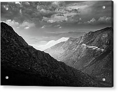 Acrylic Print featuring the photograph Monsoon Clouds Over Storm Canyon by Alexander Kunz