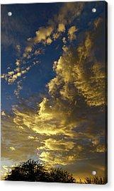 Monsoon Warmth Acrylic Print