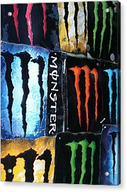 Monster Acrylic Print by Jeremiah Colley