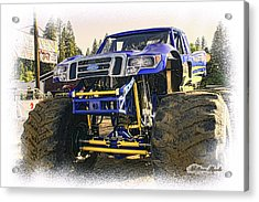Acrylic Print featuring the photograph Monster Truck At The Fair by William Havle