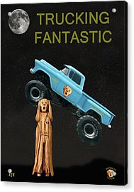 Monster Truck The Scream World Tour  Trucking Fantastic Acrylic Print by Eric Kempson