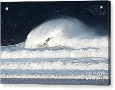 Monster Wave Acrylic Print by Nicholas Burningham