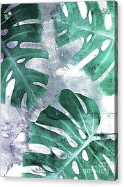 Monstera Theme 1 Acrylic Print