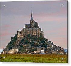 Mont Saint Michel Acrylic Print by Diana Haronis
