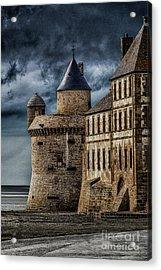 Mont Saint Michel Acrylic Print by John Karcher