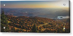 Mont Tremblant Summit Panorama Acrylic Print