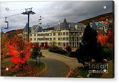 Mont Tremblant,quebec,canada Acrylic Print