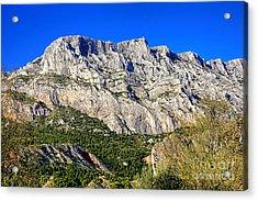 Montagne Sainte Victoire Acrylic Print by Olivier Le Queinec