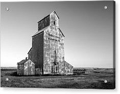 Montana Elevator Company Acrylic Print by Todd Klassy