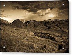 Montana Landscape Acrylic Print by Patrick  Flynn