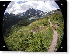 Montana Mountain Path  Acrylic Print
