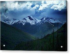 Montana Mountain Vista #2 Acrylic Print