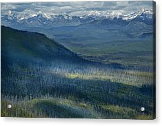 Montana Mountain Vista #3 Acrylic Print