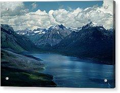 Montana Mountain Vista And Lake Acrylic Print