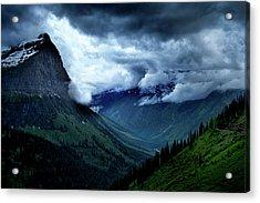 Montana Mountain Vista Acrylic Print