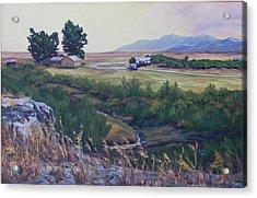 Montana Prairie Acrylic Print