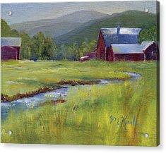 Montana Ranch Acrylic Print