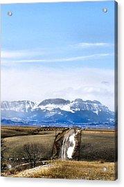 Montana Scenery One Acrylic Print