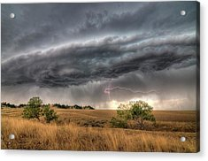Montana Storm Acrylic Print
