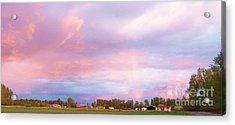 Montana Sunset 1 Acrylic Print