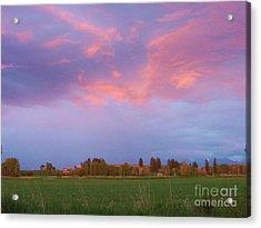 Montana Sunset 2 Acrylic Print