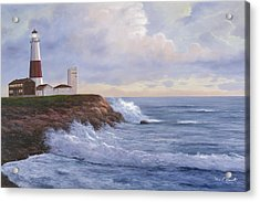 Montauk Point Lighthouse Acrylic Print
