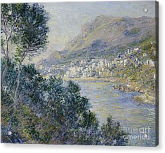 Monte Carlo Acrylic Print by Claude Monet
