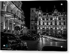 Montecarlo Nights Acrylic Print