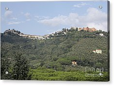 Montecatini Alto Acrylic Print by Stan and Anne Foster