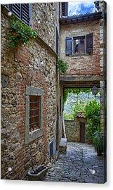 Montefioralle Tuscany 2 Acrylic Print